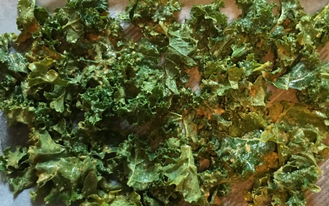 My favourite kale chip recipe